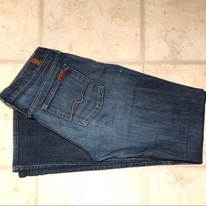 7 For All Mankind Denim Jeans boot Cut 29